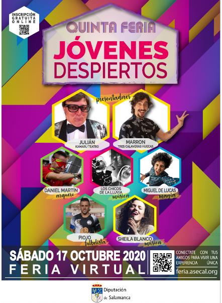 Inscripciones para la Feria Jóvenes Despiertos el sábado 17 de octubre
