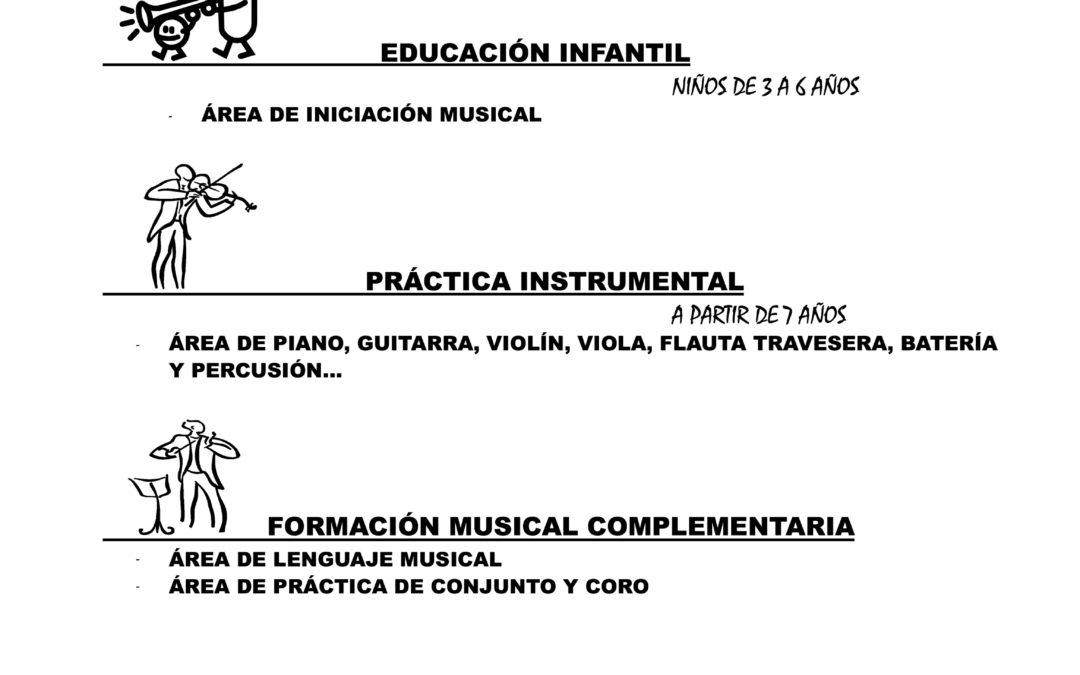 Abierto el plazo de inscripción de los cursos de música